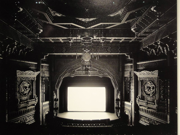 Hiroshi Sugimoto, Fifth Avenue Theatre, Seattle, gelatin silver photograph, 1997. Image courtesy of the Seattle Art Museum.