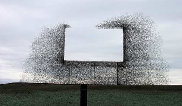 Lead Pencil Studio's Non-Sign II, 2010. Image courtesy of designboom®.