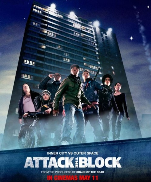 The promotional poster for Attack the Block. Image courtesy of Tiny Heroes.